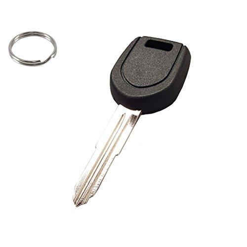 RI-KEY SECURITY Key for Mitsubishi Montero Sport 2001-2006 New Uncut Replacement Transponder Chip Key MIT-12-PT