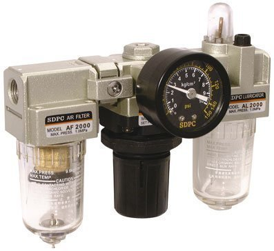 SMC Stil Luftdruck Regulator Filter Schmierstoffgeber 3/8 Zoll BSP Hoher Durchfluss Air pro