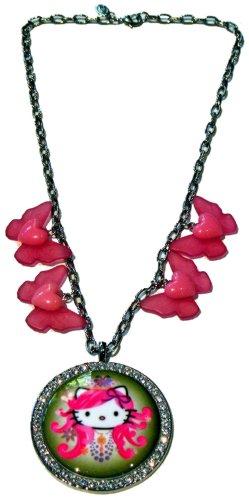 By Tarantino Necklace Tarina Heart (Tarina Tarantino Russian Nouveau Butterfly Necklace (Green))