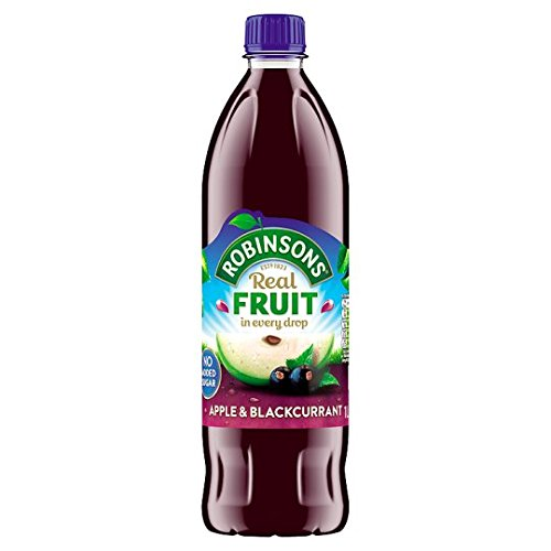 Robinsons Apple & Blackcurrant No Sugar Added 900ml (Pack of 2) ()