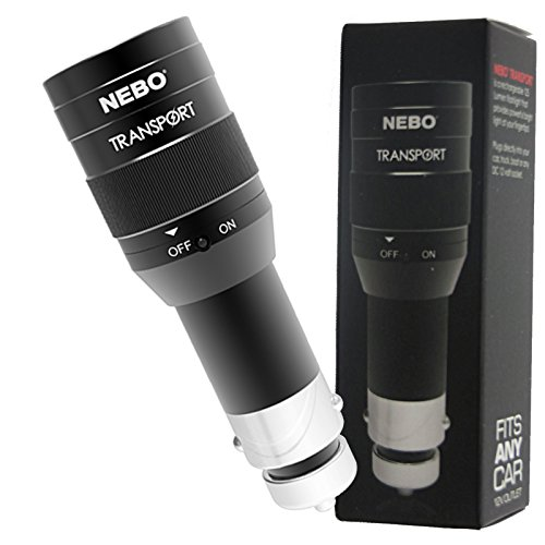 Nebo Transport 6311B 125 Lumen Rechargeable LED Flashlight