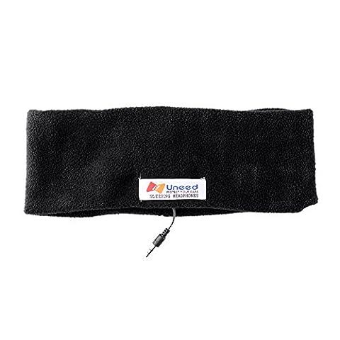 Sleep Headphone Stereo Headphone + Soft Fleece Earmuffs Most Comfortable Headphones for Sleeping - Perfect for Air Traveling Accessories