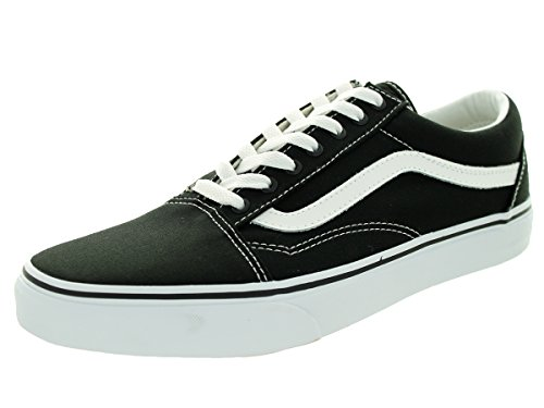 Vans U Old Skool, Baskets mode Homme canvas black-true white