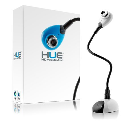 HUE HD (white) USB camera for Windows and Mac by HueHD