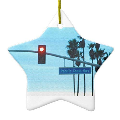 659ParkerRob Christmas Ornaments, Pacific Coast Highway for sale  Delivered anywhere in USA