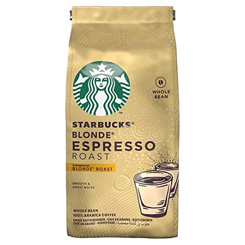Starbucks Blonde Espresso Roast Whole Bean 200g