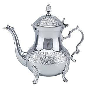 Home Stainless Steel Morrocan Teapot 800ml TP-4175-8CC