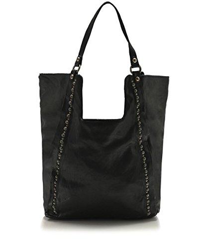 Campomaggi Mujeres bolso shopper Negro Negro