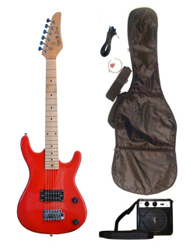 Directly Cheap 6 String Electric Guitar Pack, Red + Learn to Play (000-BT-GE36CO-FRD+DVD)