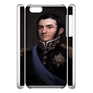 Age of Empires III iphone 5c Cell Phone Case 3D White yyfD-081246