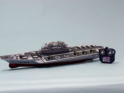 Amazoncom Challenger Rc Aircraft Carrier Model 30 Rc Battleship