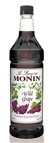Monins Wild Grape Syrup 1 Liter