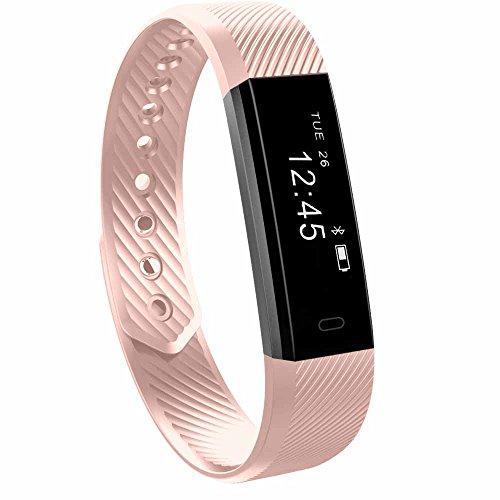 Slim Fitness Tracker Watch TOOBUR Health Activity Tracker