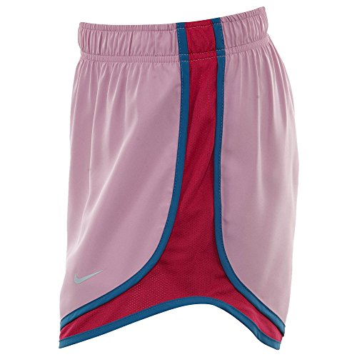 NIKE Womens Moisture Wicking Colorblock Shorts Orchid/Sport Fuchsia xqauJA