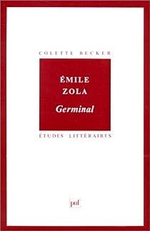 Émile Zola : Germinal par Becker