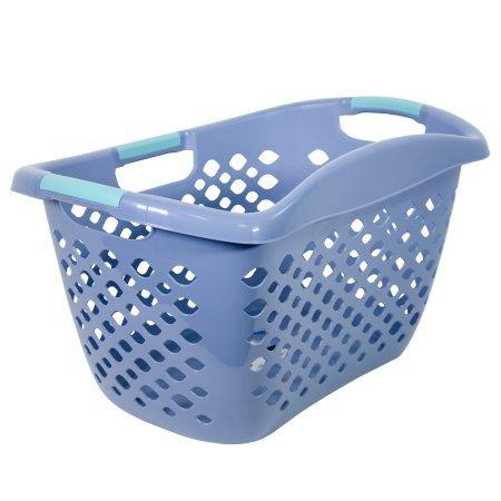 Home Logic Hip Grip Basket in Blue Gray