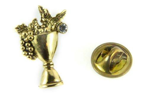 6030376 Communion Cup Lapel Pin Volunteer Server Eucharist Challice Appreciation Service (Communion Lapel Pins)