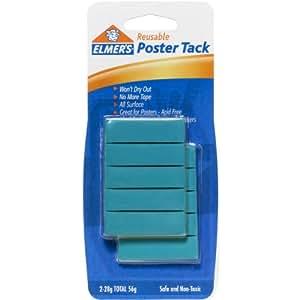 Elmer's Poster Tack Reusable Adhesive, 2 Ounces, (E1531)