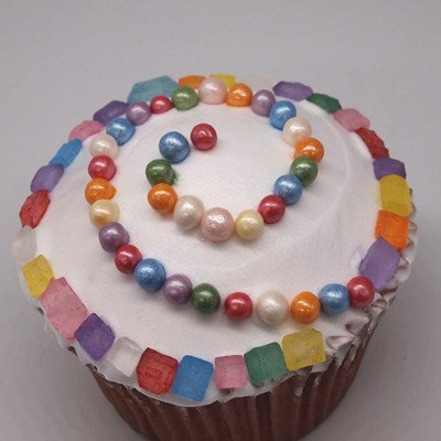 Natural4mmRainbowNuts Dairy Soy Gluten GMO Free shimmer Pearls Ball Christmas Cookies