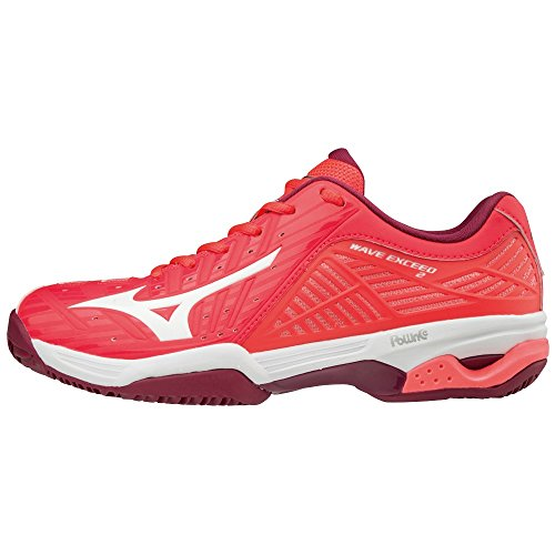 Wave White CC Exceed Femme 001 Sneakers Beetred 2 Basses Mizuno Fierycoral Multicolore TqZaZ