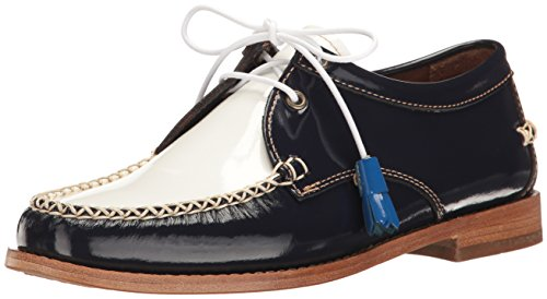 G.H. Bass & s9pYiTBEtk Women's Winnie Oxford, Navy/White