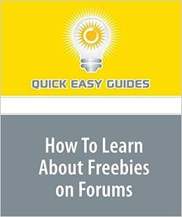 quick easy freebies