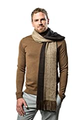 A Wardrobe EssentialAccessorizing has never been simpler with mens scarves. You'll love the chic elegance of the Mio Marino mens winter scarf layer it up or down, It's a sure-fire winner, regardless of the day's 'look'. Unparalleled QualityAt...
