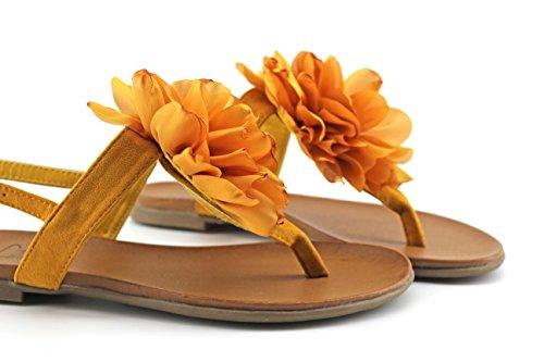 MODELISA Women's Fashion Sandals lemon tree 0M9xa