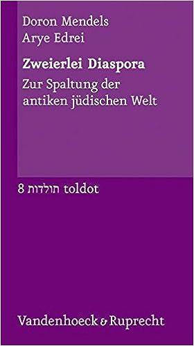 Book Zweierlei Diaspora (Toldot)