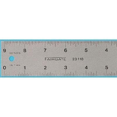 Eluxite Aluminum Centering Ruler Size: 36