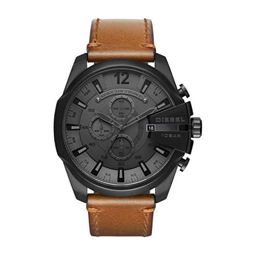 chollos oferta descuentos barato Diesel Reloj Cronógrafo para Hombre de Cuarzo con Correa en Piel DZ4463