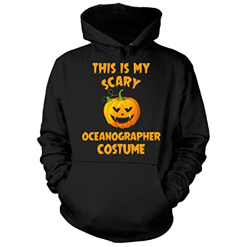 Oceanographer Costume (This Is My Scary Oceanographer Costume Halloween Gift - Hoodie Black M)