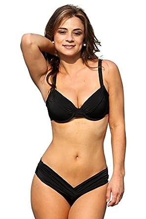 Amazon.com: Perfect Curves Underwire Bikini: Clothing