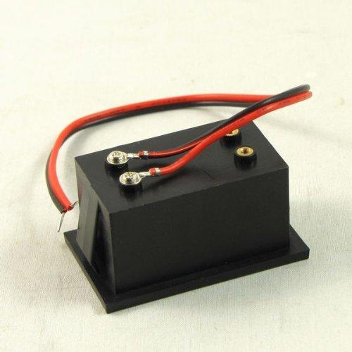 Waterproof 4.5v Mini LED bleue voltmètre numérique à 30V pour 9v 12v 24v