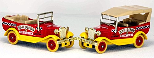 Ford Model Fire Chief - Days Gone Lledo DG140 1922 Model T Ford San Diego Fire Chief Car
