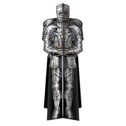 Beistle 3D Suit of Armor Centerpiece, 12-Inch, Multicolor]()