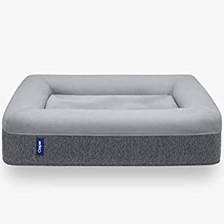 Casper Dog Bed, Plush Memory Foam, Small, Gray