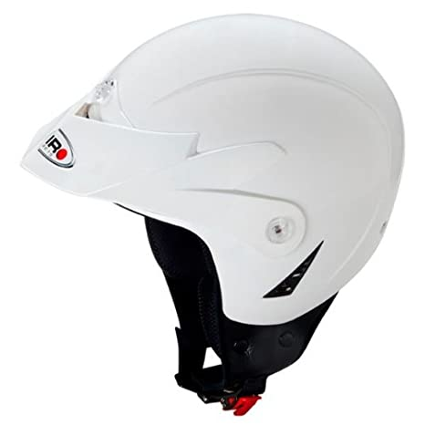 Casco de Moto para Trial Shiro SH-65 K2, Color Blanco, (Blanco