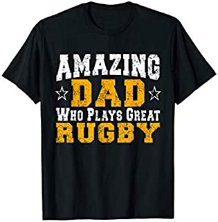 Rugby Dad Father's Day  Gift Idea Father's Day Birthday T-shirt | Size S - 5XL