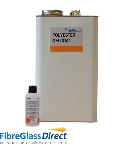 7704014 5 kg poliester negro gelcoat y 100 ml catalizador: Amazon.es: Bricolaje y herramientas