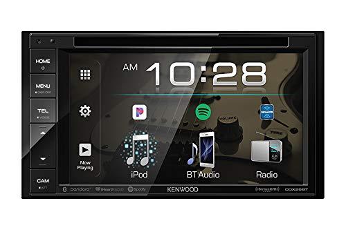 Kenwood DDX26BT Double DIN SiriusXM Ready Bluetooth in-Dash DVD/CD/AM/FM Car Stereo Receiver w/ 6.2