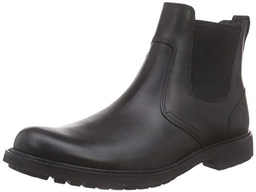 Stormbuck Chelsea Men Black on Black Timberland Pull Boots 1qB5nwnT