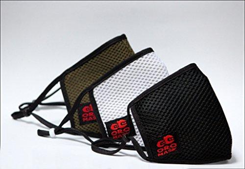 OROMASK – Cotton – Reusable Washable – 4 Layer Unisex – 3D Snug fit Design – ISO & CE Certified -Adjustable Ear-loop…