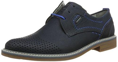 Fretz Mænd Mænd Locarno Derby Blå (blå) AJgPR8BIt