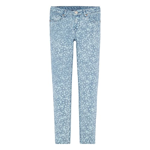 Levi's Big Girls' 710 Super Skinny Fit Soft Jeans, Light Waters, 10