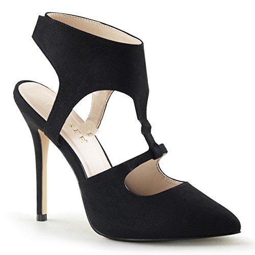 terciopelo mujer Pleaser de destalonados Zapatos wqaWWntRX