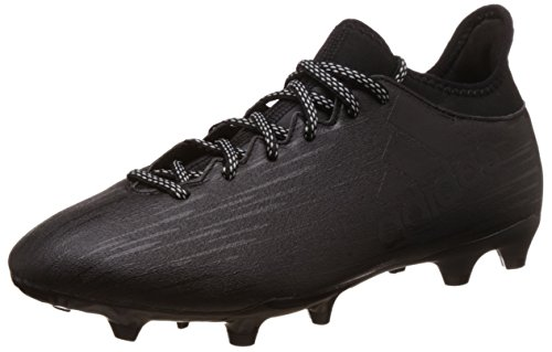 adidas Herren X 16.3 Fg Fußballschuhe, Schwarz (Core Black/Core Black/Dark Grey), 45 1/3 EU
