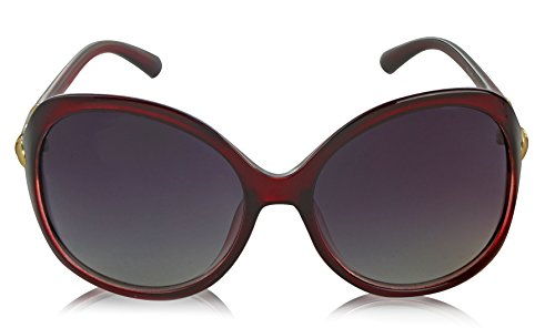 Butterfly Plastic Frame Shaped Sunglasses Trendy Stylish Vintage Jackie O Red ()