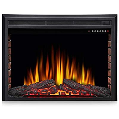 Joy Pebble Electric Fireplace Insert