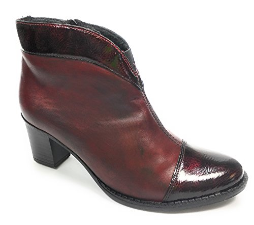 Z7664 35 Rieker Womens RIEKER Bordeaux Boot Ankle fcTHxg0q07